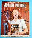 Motion Picture Magazine Cover Dec 1945 Deanne Durbin