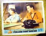 Follow That Dream Lobby Card 1962 Elvis Presley