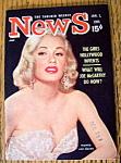 News Magazine January 1, 1955 Mamie Van Doren