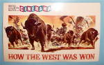 How The West Was Won Movie Postcard