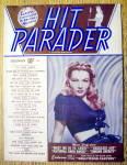 Hit Parader Magazine-december 1944-veronica Lake