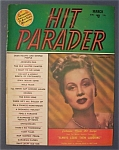 Hit Parader Magazine - March 1950 - Virginia Mayo Cover