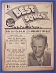 Best Songs Magazine - November 1949