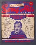 Song Hits Magazine - December 1949 - Bob Hope Cover