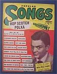 Popular Songs Magazine - Jan 1950 - Bill Lawrence Cover