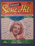 Song Hits Magazine - Jan 1951 - Rosemary Clooney Cover