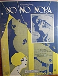1923 No No Nora By Ted Fiorito & Ernie Erdman