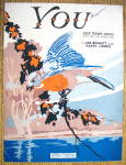 Sheet Music For 1929 You (Fox Trot Song)