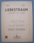 Sheet Music For 1925 Liebestraum (Dream Of Love)