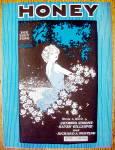 Sheet Music For 1928 Honey (Fox Trot Song)