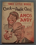 1930 Three Little Words W/amos & Andy