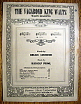 Sheet Music Of 1926 The Vagabond King Waltz