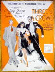 Sheet Music For 1930 Something To Remember You By