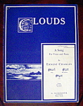 Sheet Music Of 1932 Clouds