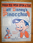 1940 When You Wish Upon A Star (Pinocchio & Jiminy)