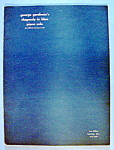 Sheet Music For 1940 Rhapsody In Blue