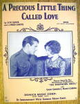 Sheet Music Of 1928 A Precious Little Thing Called Love