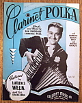 Sheet Music For 1940 Clarinet Polka