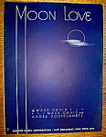 Sheet Music For 1939 Moon Love