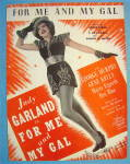 Sheet Music For 1932 For Me And My Gal