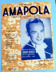 1933 Amapola (Pretty Little Poppy) By Joseph Lacalle