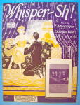 Whisper-sh Sheet Music 1926 Bryan & Little