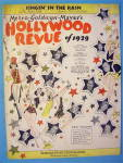 Singin In The Rain 1929 Hollywood Revue Of 1929