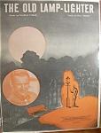 Sheet Music For 1946 The Old Lamp - Lighter