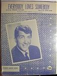 Sheet Music For 1958 Everybody Loves Somebody