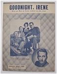 Sheet Music For 1950 Goodnight, Irene
