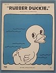 1970 Rubber Duckie