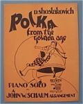 Sheet Music For 1944 Polka From The Golden Age