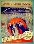 Sheet Music Of 1942 White Christmas