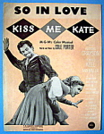 Sheet Music For 1948 So In Love