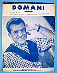 Sheet Music For 1955 Domani