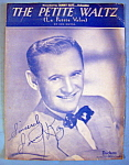 Sheet Music For 1950 The Petite Waltz (Sammy Kaye)