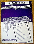 Sheet Music For 1949 Gitanerias