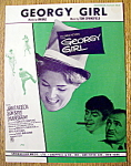 Sheet Music For 1967 Georgy Girl