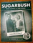Sheet Music For 1952 Sugarbush