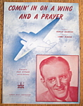 1943 Comin' In On A Wing & A Prayer Sheet Music