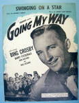Sheet Music For 1944 Swinging On A Star By Johnny Burke