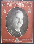 Sheet Music-1920 Ah Sweet Mystery Of Life (Cover Only)