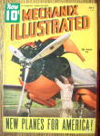 Mechanix Illustrated Magazine-july 1940-new Planes