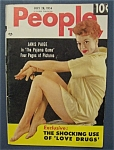 July 28, 1954- Janis Paige Cover