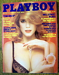 Playboy Magazine-october 1983-tracy Vaccaro