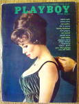 Playboy Magazine-october 1962-laura Young