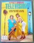 Playboy Magazine 1984 Playboy's Women Of Television