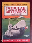 Popular Mechanics Magazine-november 1938-poor Eskimo