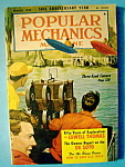 Popular Mechanics Magazine-august 1952-fifty Years
