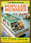 Popular Mechanics-december 1959-built This Houseboat